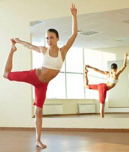 Yoga Studio Mirror