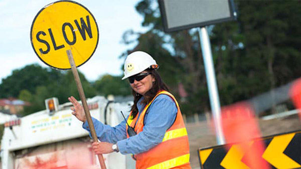 Workplace traffic control management